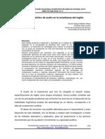 Chulim - 2007 - Material auténtico de audio en la enseñanza del inglés