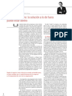 Marketing Interno:La solución a lo de fuera puede estar dentro.Emilio Llopis.