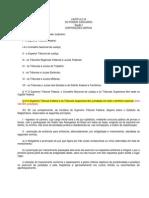 Constituição Poder Judiciario (disposicoes gerais, conselho nacional justica)