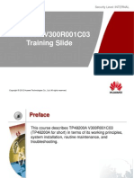 TP48200A V300R001C03 Training Slide_V1.0
