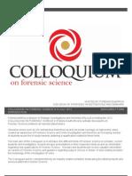 2012 Delegate Brochure- Froensic Science