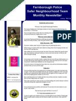 NHW Newsletter - July 2013