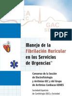 Manejo Fibrilacion Auricular en Los Servicios de Urgencias