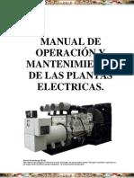 Manual Operacion Mantenimiento Plantas Electricas