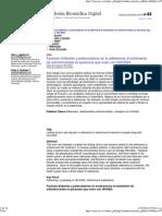 Factores Limitantes y Potenciadores en La Adherencia Altratamiento de Antirretrovirales en Personas Que Viven VIH Sida