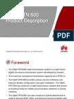 OTF101101 OptiX RTN 600 V100R003 Product Description ISSUE 1.02