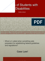 right of students with disabilities-dj