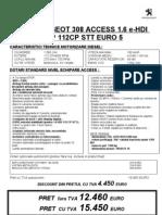 308 _ACCESS 1.6 eHDI 112CP_09.07.2013