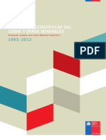 ANUARIO DE ESTADÍSTICAS DEL COBRE Y OTROS MINERALES 1993-2012