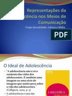 Representações da Adolescência nos Meios de Comunicação