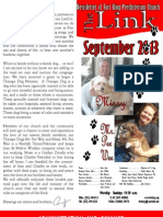 September 2013 LINK Newsletter