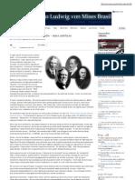 IMB - Monopólio e livre mercado - uma antítese