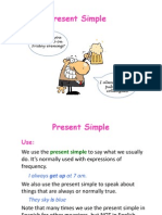 Present Simple Pre-intermediate