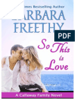 So This is Love - Barbara Freethy