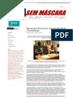 Mídia Sem Máscara - Movimento Passe Livre, Foro de São Paulo e Constituinte