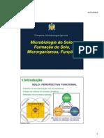 6409_Microrganismos Do Solo - Formacao Do Solo, Microrganismos e Funcoes