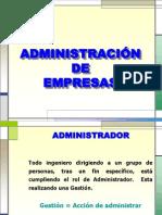 Admnistracion de Empresas