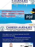 Join Management Coaching Classes and Add Fineness to Your Preparations
