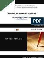 Finanzas Publicas 2013