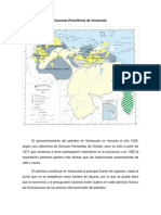 Cuencas Petroliferas de Venezuela