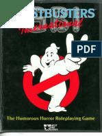 Ghostbusters International RPG
