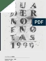 Ciria Cuaderno Notas 1990