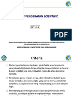 2.1 Konsep Pendekatan Scientific Rev Final