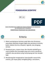 2.1 Konsep Pendekatan Scientific Rev Final
