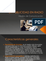 La Publicidad en Radio