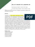 Simulación perceptiva en el desarrollo de la comprensión del lenguaje disertación