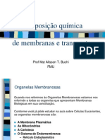 Membranas e Transporte