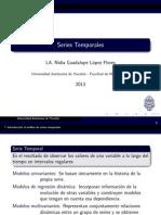 Series Temporales UADY 2013