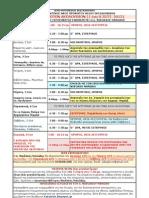 ΠΡΟΓΡΑΜΜΑ ΙΕΡΩΝ ΑΚΟΛΟΥΘΙΩΝ (1 έως 8 ΣΕΠΤ. 2013)