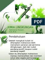 Kimia Lingkungan1 (Pendahuluan)