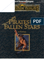 Advanced Dungeons & Dragons - Segunda Edición - Inglés - Forgotten Realms - Pirates of the Fallen Stars