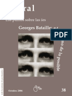 Litoral Georges Bataille