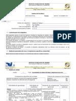 Instrumentación Didáctica Estudio I grupo 3b6C (Enero - Junio 2013)