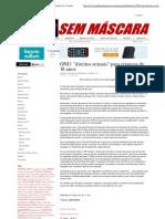 Mídia Sem Máscara - ONU_ _direitos sexuais_ para crianças de 10 anos