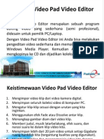 Tutorial Video Pad Video Editor