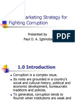 Social Marketing Strategy for Fighting Corruption