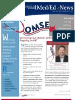 UA OMSE Med/Ed-eNews v2 No. 01 (AUG 2013)