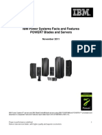 IBM Power Systems Facts and Features - POWER7 Blades and Servers