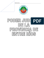 Cuadernillo - Concurso de Ingreso Al Poder Judicial Provincia de Entre Rios
