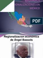 REGIONES Y REGIONALIZACIONES EN MÉXICO.pptx