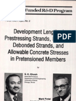 Development Length of Prestressing Strands [PCI]