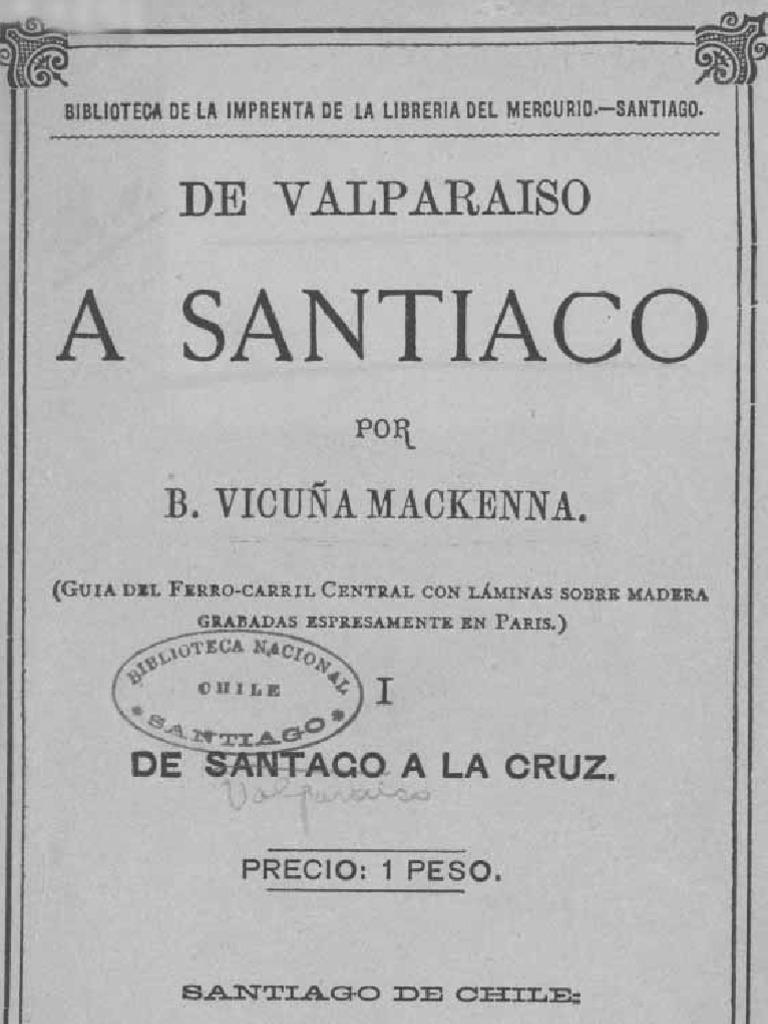 De Valparaíso a Santiago