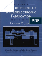 Introduction To Microelectronic Fabrication R C Jaeger