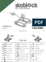 Makeblock Tank With Robot Arm