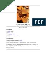 Tacos de Platano