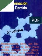 La Diseminacion Derrida